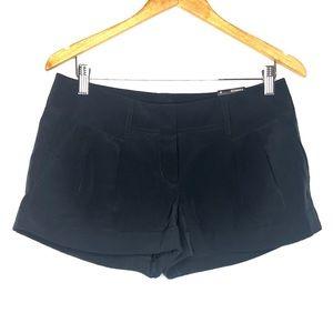 Express Satin Feel Black Shorts in Sz 6
